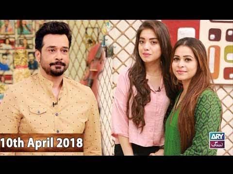 Salam Zindagi With Faysal Qureshi - 10th April 2018 - ARY Zindagi