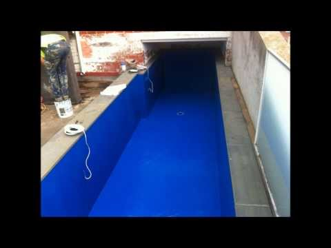 Melbourne Roof Top Swimming Pool Waterproofing System from Australian Waterproofing Company
