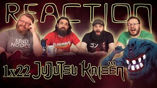 "Jujutsu Kaisen 1x22 REACTION!! ""The Origin of Blind Obedience"""