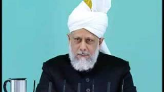 Friday Sermon: 15th May 2009 - Part 5 (Urdu)