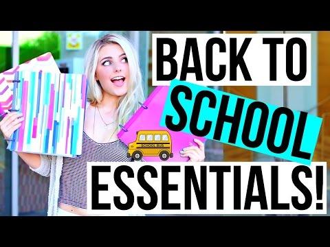 Back To School Essentials + Locker Organization! | Aspyn Ovard