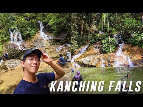 CLEAR Beautiful Waterfall Nature [KANCHING FALLS] - 7 Waterfalls • Malaysia