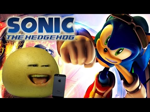 Grapefruit Plays Sonic The Hedgehog (Annoying Orange Gaming)