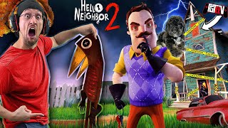 HELLO NEIGHBOR 2!!  No More Basement! Now, Attic?? (FGTeeV Alpha 1 Ending w/ OLLIE)