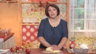 Творожный пирог с яблоками онлайн