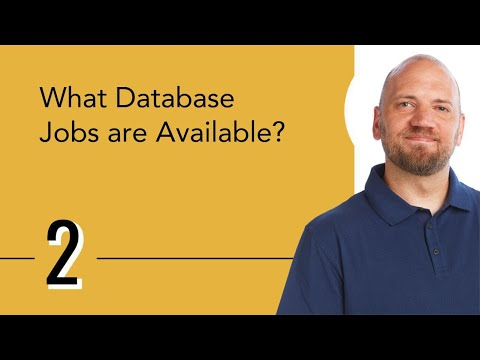 What Database Jobs are Available?