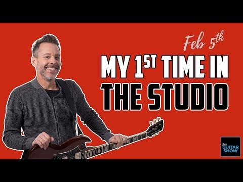 My First Time in the Studio - LIVE