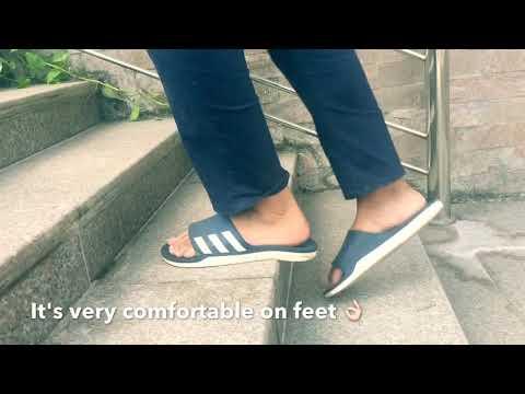 53a0c15fcf63 Adidas Duramo Slide Sandals - Black and Infrared - www.simplyswim.com