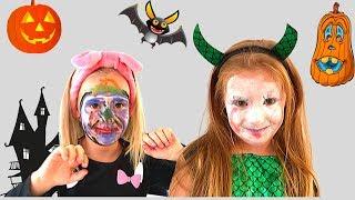 HALLOWEEN Make Up Challenge. Zoja i Asja se šminkaju za HALLOWEEN.