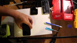 How to Drill Out iPhone 4/ 4S Pentalobe Screw (stripped/ stuck screws)