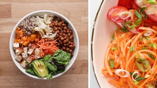 3 Quick and Easy Buddha Bowls