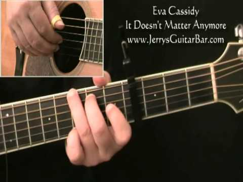 Eva Cassidy - It Doesn't Matter Anymore | Guitar Lesson, Tab