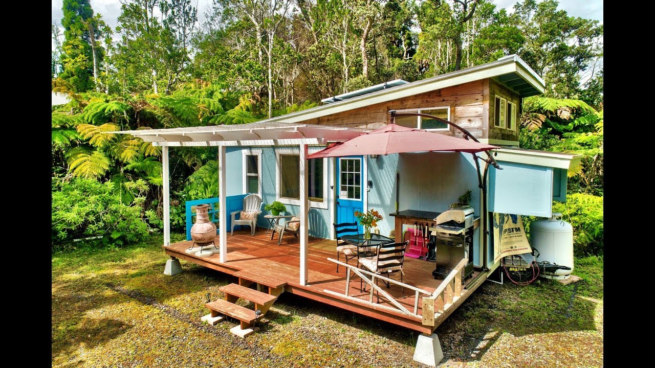 Tiny House Living In Hawaii Youtube