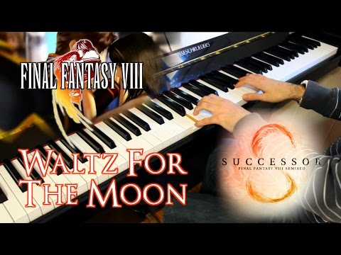🎵 Waltz for the Moon (Final Fantasy VIII) ~ Piano arrangement w/sheet music [MATERIA]