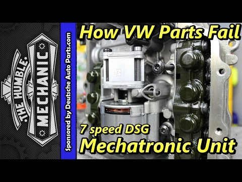 Common Faults in the 7-Speed DSG Automatic Transmission | AxleAddict