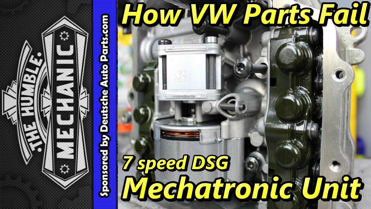 2013 Passat Fuse Box How Vw Parts Fail 7 Speed Dsg Mechatronic Unit Youtube