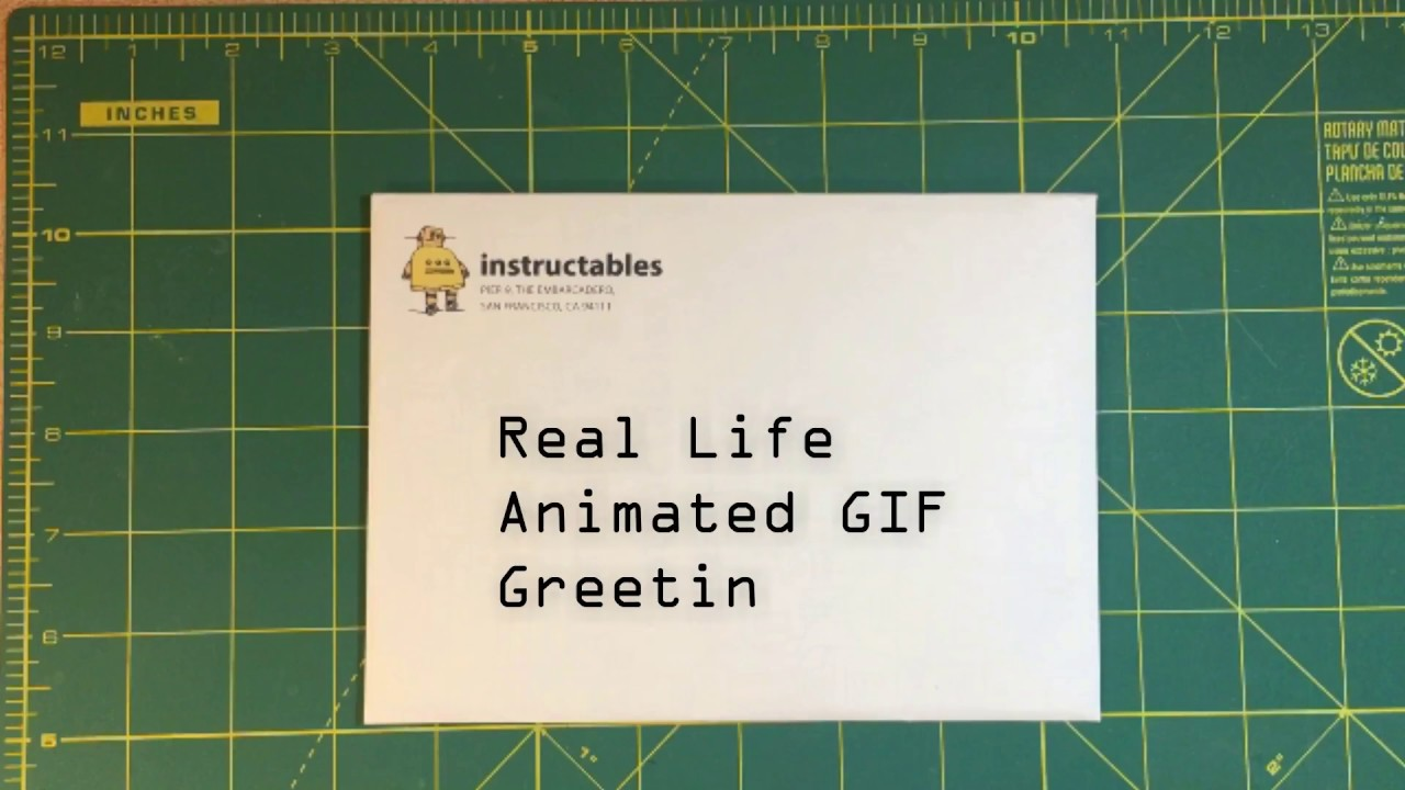Real-Life Animated Greeting Cards: 4 Steps (with Pictures)