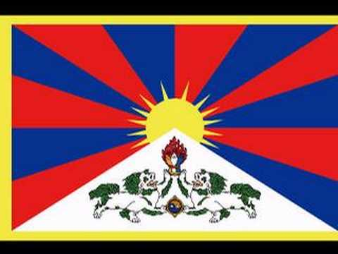 The national flag of Tibet. High resolution picture(SVG)
