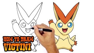 How to Draw Victini   Pokemon