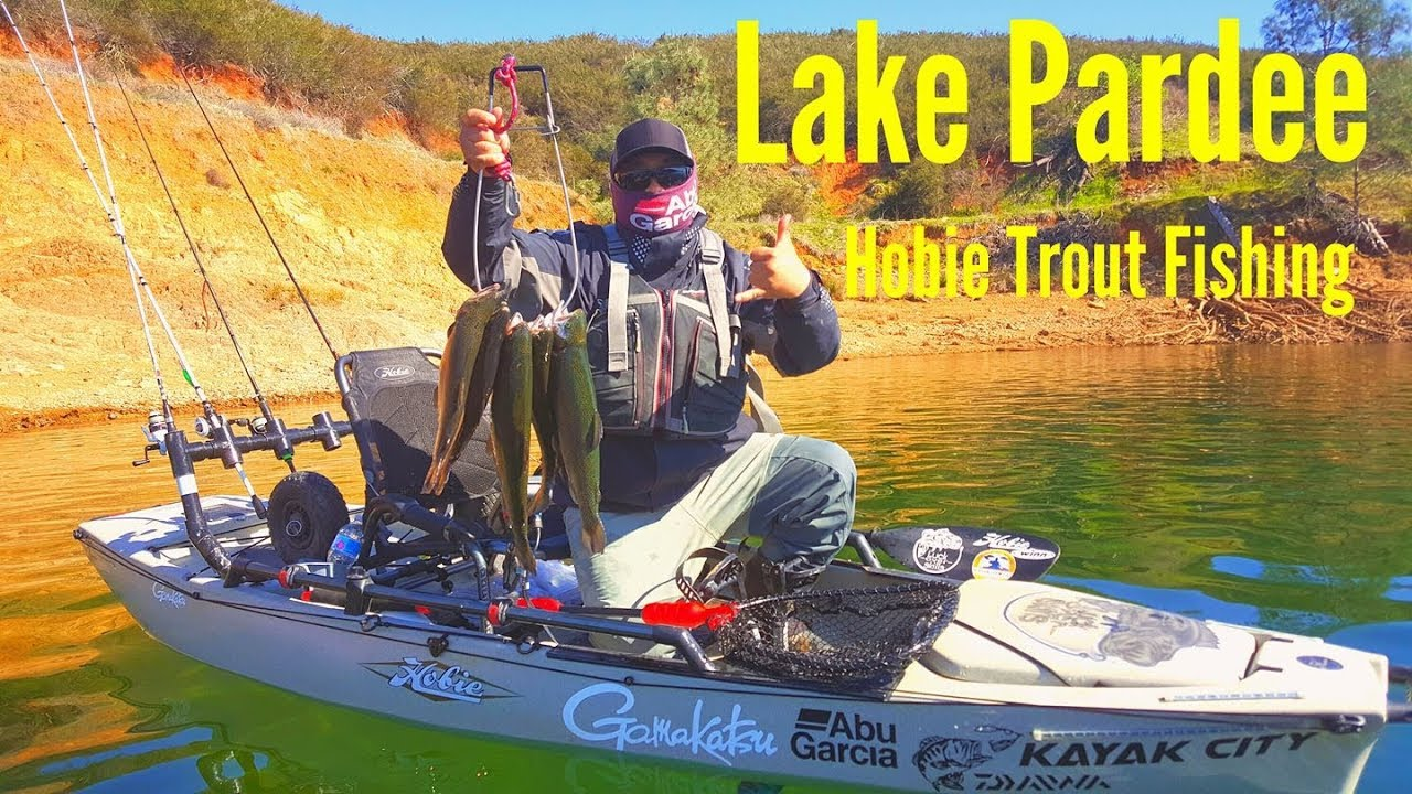 Lake pardee trout fishing on kayaks 2018 with chue youtube for Lake pardee fishing report