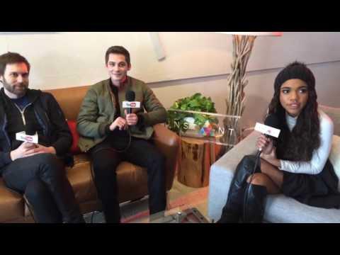 Teala Dunn, Logan Lerman & Shawn Christensen Talk 'Sidney Hall' | Sundance Film Festival |