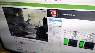AMD FX 4130 overclocked/stock heatsink