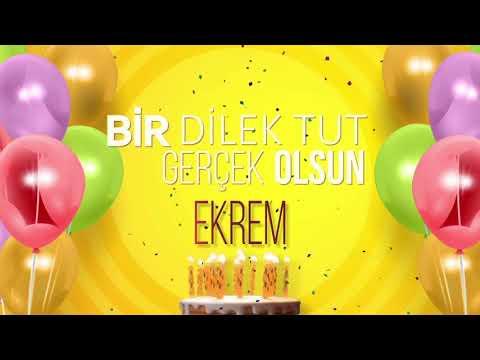 İyi ki doğdun EKREM- İsme Özel Doğum Günü Şarkısı (FULL VERSİYON)