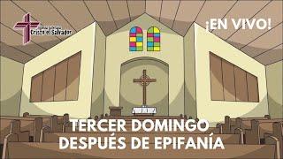 Tercer Domingo después de Epifanía, Cristo El Salvador LCMS Del Rio, TX