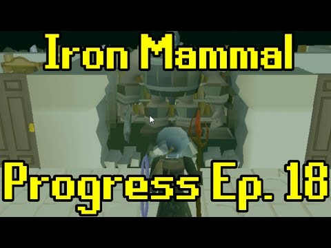 Oldschool Runescape - 2007 Iron Man Progress Ep. 18 | Iron Mammal