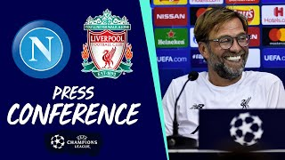 Jürgen Klopp's Champions League press conference | Napoli