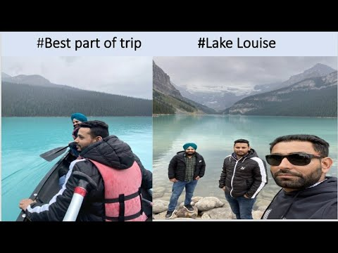 #Day 5 #Lake louise (ALBERTA) #best part of journey