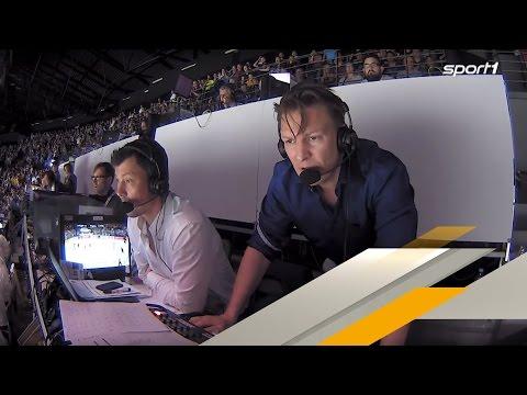Irre: So flippt Kommentator Basti Schwele beim Lettland-Spiel aus | EISHOCKEY WM 2017