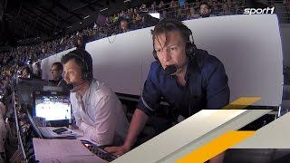 Irre: Kommentator Basti Schwele flippt beim Deutschland Sieg aus   EISHOCKEY WM 2017