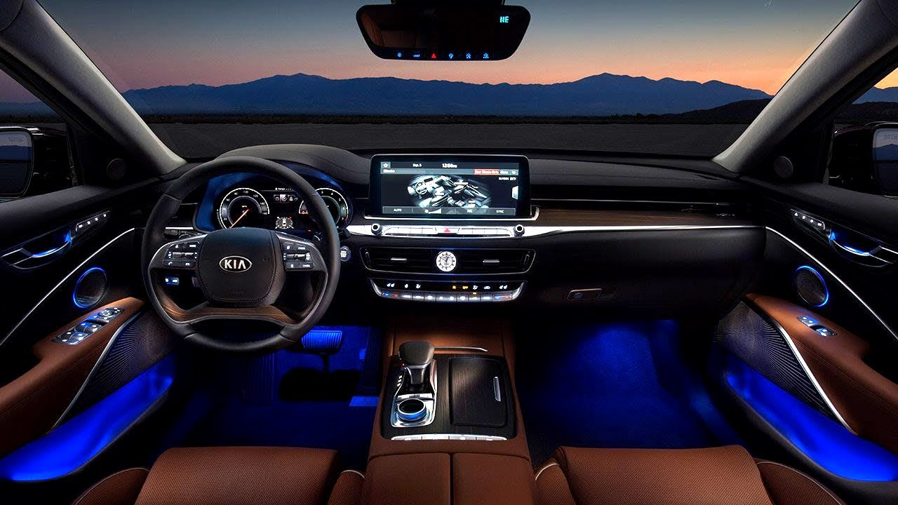 2020 Kia K900 Luxurious Wild Sedan Features Youtube