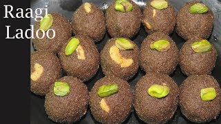 Ragi Laddu Recipe  in Telugu-Finger Millets Laddu-How to make Raagi ladoo-Ragi Recipes in telugu