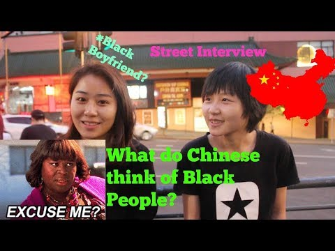 What Chinese think of Black People|Ask Chinese about Black People|Street interview