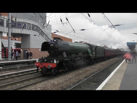 Trains at Doncaster 29/4/17