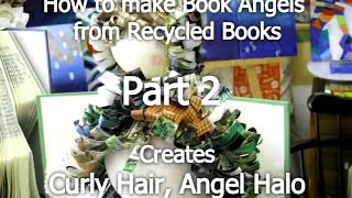 Gambar cover Yoko's Art Class - Making Recycled Book Angels Video Tutorial PART 2