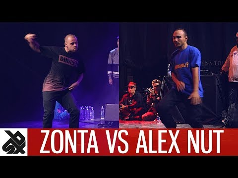 ZONTA & TWOH vs ALEX NUT & NAPOM  Dance Battle To The Beatbox 2017  TOP 8   WBC X FPDC