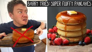 Tasty's 'Fluffy Pancakes' | Barry tries #13