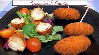 Croquetas de Gamba | Receta de Cocina en Familia