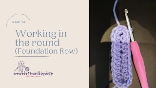 Working in the round: Foundation row