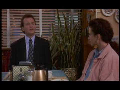 "Bill Murray - Best scenes from the movie ""Groundhog Day"""