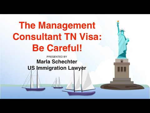 Management Consultant TN Visa: Be Careful!