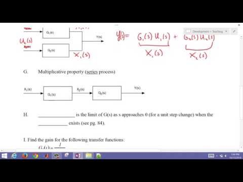Properties of Transfer Functions
