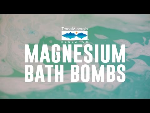 Trace Minerals - Magnesium Bath Bombs
