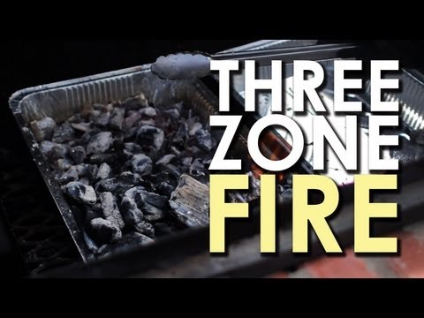 Make a Three Zone Fire for Grilling Perfection