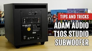 Mojaxx Reviews the ADAM Audio T10S Studio Subwoofer | Tips and Tricks
