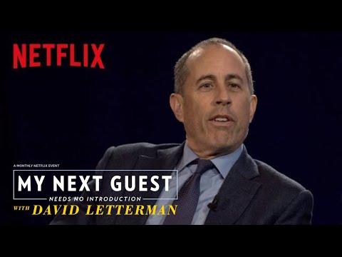 David Letterman and Jerry Seinfeld Talk Baseball  My Next Guest Needs No duction  Netflix