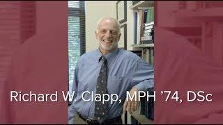 2018 Alumni Award of Merit: Richard Clapp